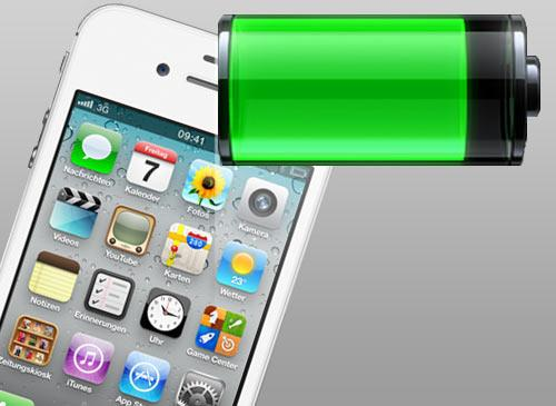 iPhone 4S Akku Probleme