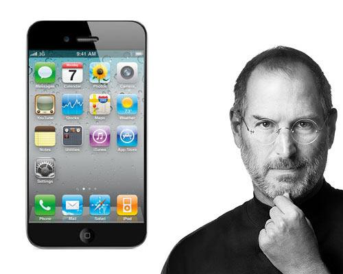 iPhone 5 und Steve Jobs