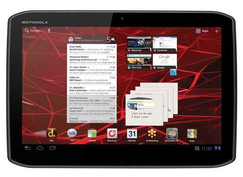 Motorola Xoom 2 frontansicht