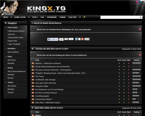 Ist Kinox.To Down?