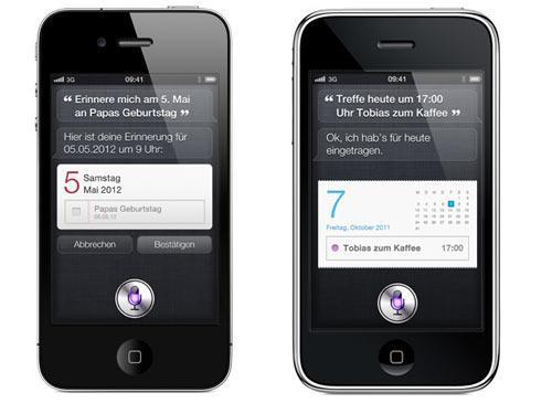 iPhone 4 iPhone 3G mit Siri