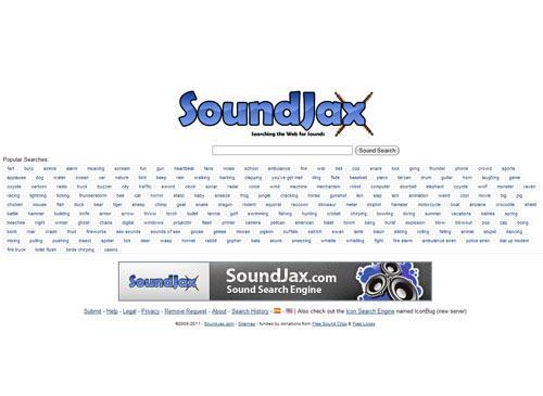 soundjax.com Startseite