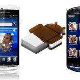 Google Android 4.0: Sony Ericsson