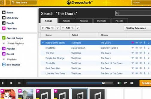 Grooveshark Alternativen – Die besten
