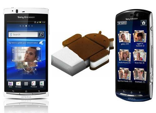 Google Android 4.0 Sony Ericsson