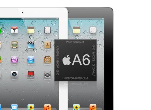 iPad 4 mit A6 Chip