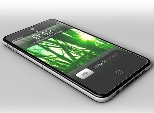 iPhone 5 Liegent schwarz