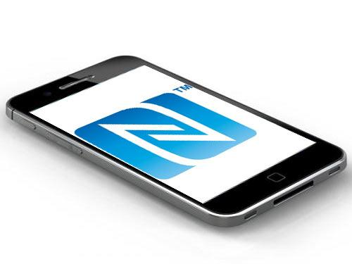 iPhone 3 mit NFC logo