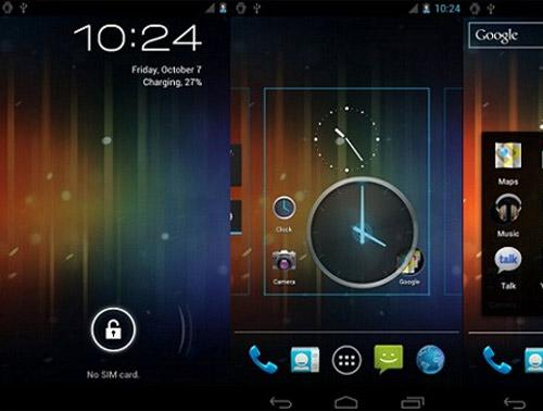Samsung Galaxy S2: Android 4.0