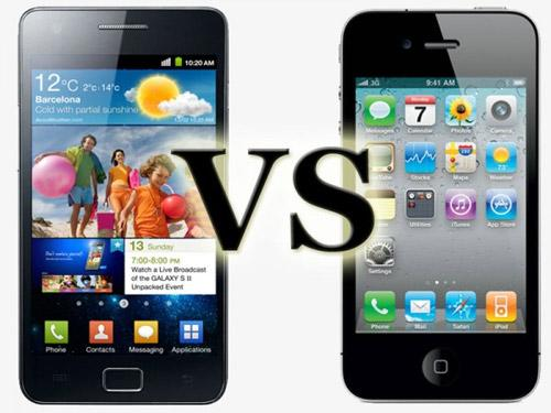 Samsung Galaxy S3 iPhone 5