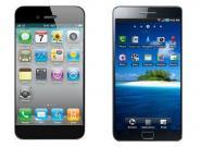 Samsung Galaxy S3 gegen iPhone