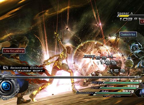 Final Fantasy XIII-2 kampf