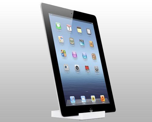 iPad 3 stehent seitenansicht