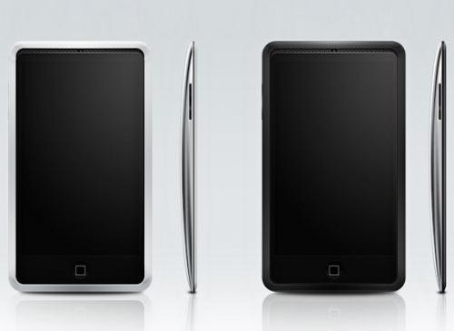iPhone 5 Schwarz weiß