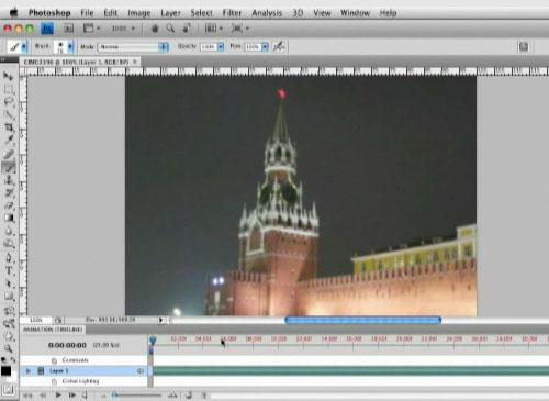 Photoshop CS4 video bearbeitung