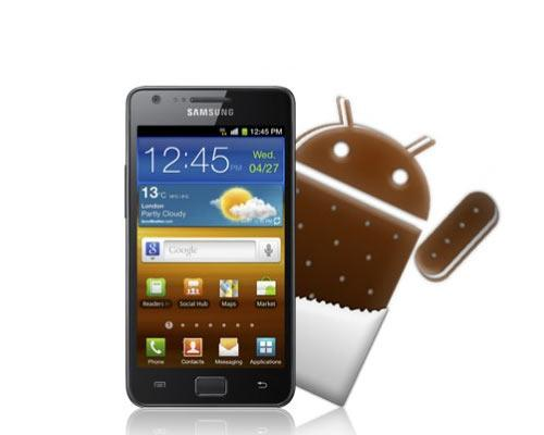 Samsung Galaxy S2 Android 4.0