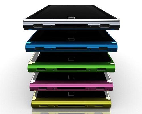 iPhone 5 Ansicht