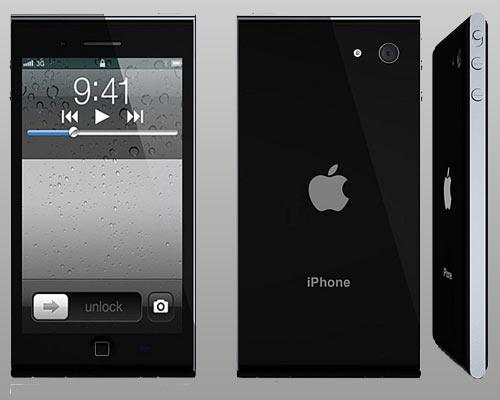 iPhone 5 Ansichten Schwarz