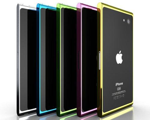 iPhone 5 Rückseiten ansichten Aluminium