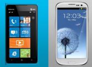 Samsung Galaxy S3 gegen Nokia