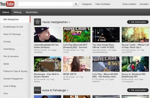 YouTube.com: Filme und Serien kaufen
