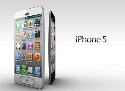 iPhone 5 Ansichten 2012 Logo