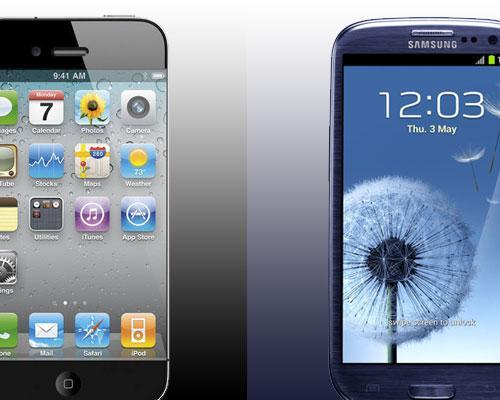 iPhone 5 2012 VS Samsung Galaxy S3