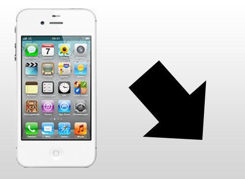 iPhone 4S absturtz