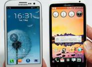 HTC One X vs. Samsung