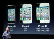 iPhone 4S: SAR-Wert drei Mal