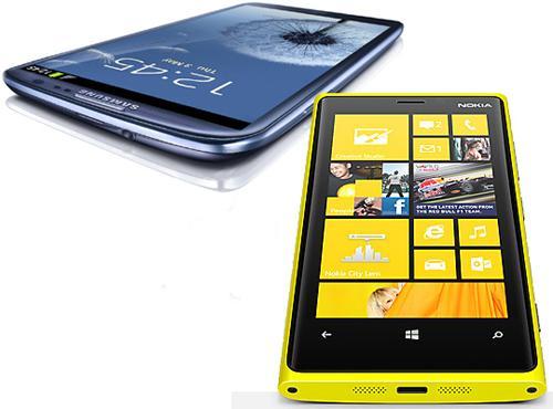 Samsung Galaxy S3 vs. Nokia Lumia 920