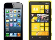 Nokia Lumia 920 vs. iPhone