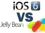 Android Jelly Bean oder Apple