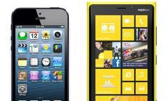 Nokia Lumia 920 vs. iPhone