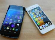 iPhone 5 vs. Google Nexus