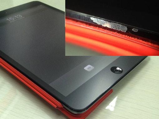 iPad Mini: Kratzer