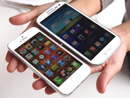 iPhone 5 Samsung Galaxy S3