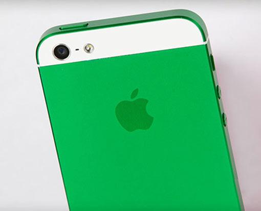 iPhone 5 in bunten Farben