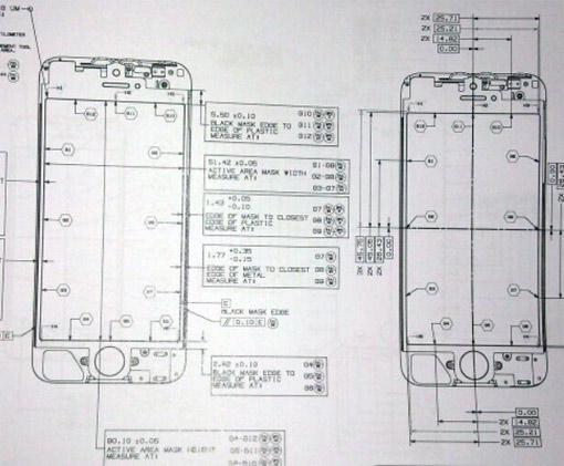 iPhone 5 Plus: Entwürfe