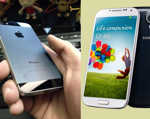Test: Samsung Galaxy S4 vs. iPhone 5