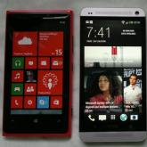 HTC One vs. Nokia Lumia