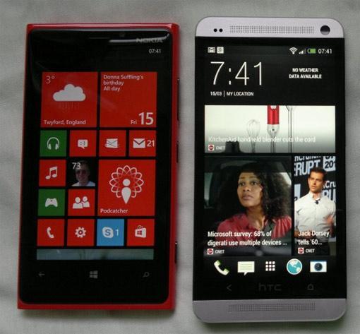 HTC One vs. Nokia Lumia 920