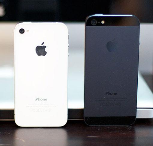 iPhone 4S iPhone 5