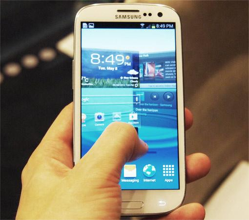Sasmung Galaxy S3: Update