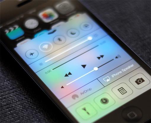 Apple iOS 7 iPhone 5