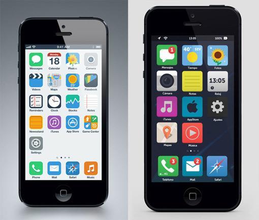 Neues Apple iOS 7