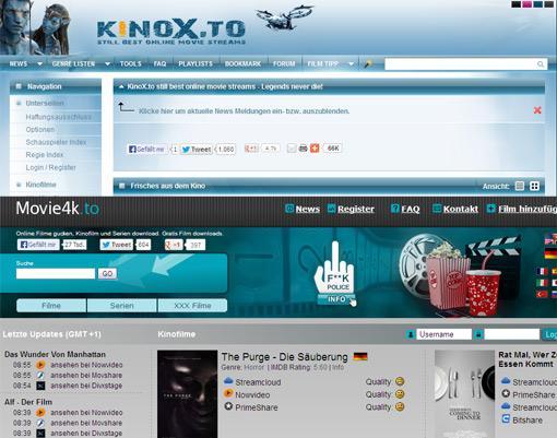 Movie4k.to und Kinox.to