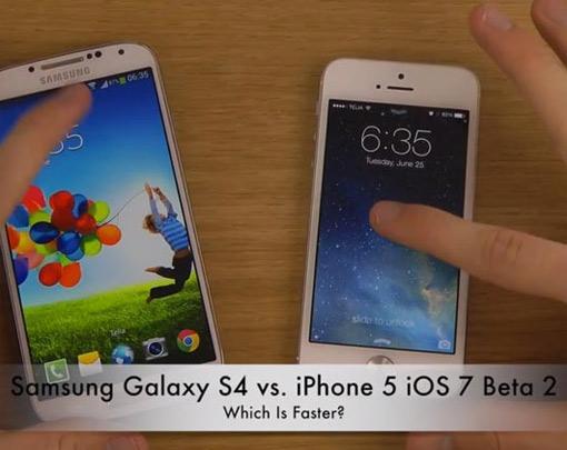 iPhone 5 mit iOS 7 Beta 2
