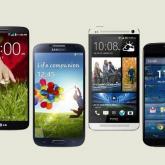 LG G2 Smartphone gegen Samsung