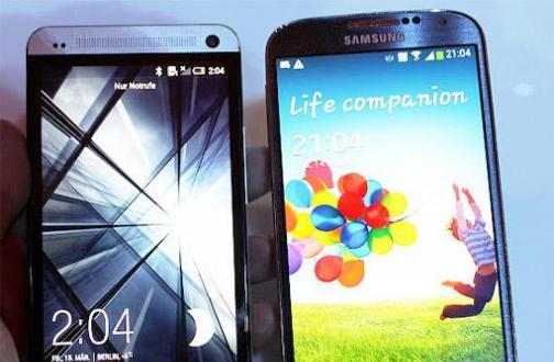 Samsung Galaxy S3 & S4: